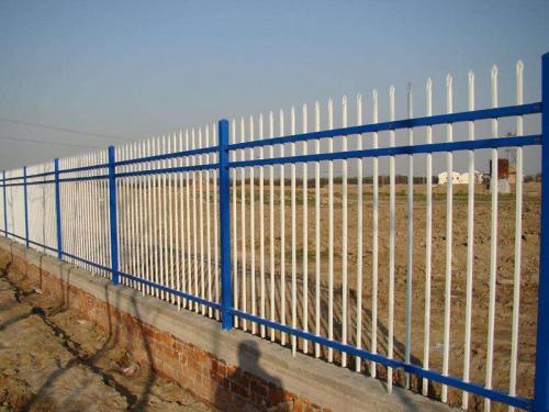 厂区锌钢护栏工程案例